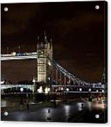 London Southbank View Acrylic Print