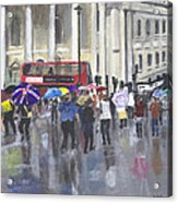 London - Summer 2012-1 Acrylic Print by Peter Edward Green