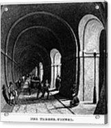 London: Thames Tunnel Acrylic Print