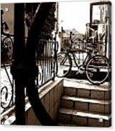 Lonely Bike Acrylic Print