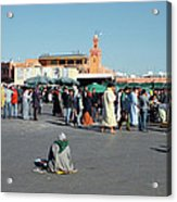 Lonely In Marrakesh Acrylic Print