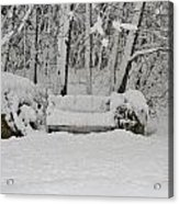Lonely In Winter Acrylic Print