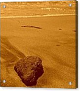 lonely Rock Acrylic Print