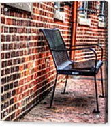 Lonely Seat Acrylic Print