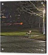 Lonely Walkway Acrylic Print