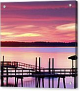 Long After Sunset Acrylic Print
