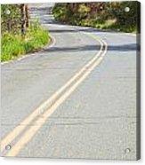 Long And Winding Road Acrylic Print
