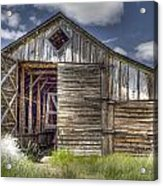 Long Barn Acrylic Print
