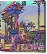 Long Beach Pike Acrylic Print