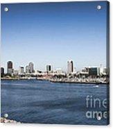 Long Beach Skyline Acrylic Print