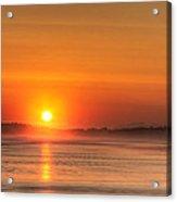 Long Beach Sunset Acrylic Print