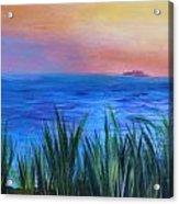 Long Island Sound Sunset Acrylic Print