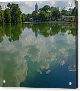 Long Reflection Acrylic Print