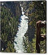 Long River View Acrylic Print