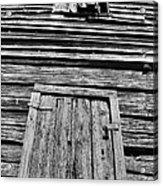 Long Tall Barn Acrylic Print