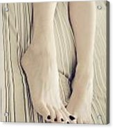 Long Toes Acrylic Print by Tos Photos