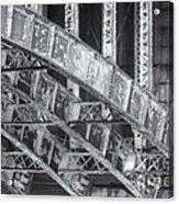Longfellow Bridge Arches V Acrylic Print