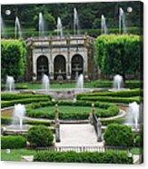 Longwood Fountains Acrylic Print