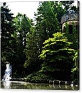 Longwood Garden Castle Acrylic Print