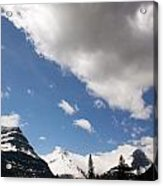 Look Out Here Come The Clouds Acrylic Print