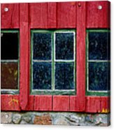 Look Throught Any Window Acrylic Print