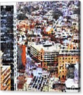 Looking East In Baltimore Acrylic Print
