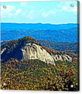 Looking Glass Mountain Blue Ridge Parkway Acrylic Print