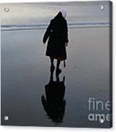Looking Glass Reflection Acrylic Print