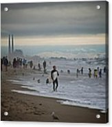 Looking South To Moss Landing Acrylic Print