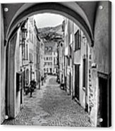 Looking Through Graach Gate Acrylic Print