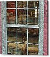 Looking Through The Window Acrylic Print