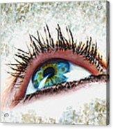 Looking Up Eye Art Acrylic Print