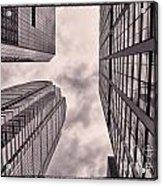 Looking Up In Philadelphia 3 Acrylic Print
