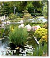 Loop Around The Garden Acrylic Print
