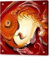 Loose Goldfish Acrylic Print