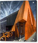 L'orange Facade Acrylic Print