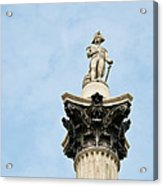 Lord Nelson's Column Acrylic Print