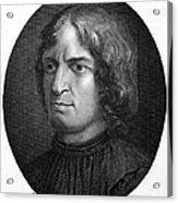 Lorenzo De Medici Acrylic Print