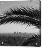 Los Angeles Skyline From Hollywood Hills Acrylic Print