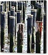 Lost Dock Acrylic Print