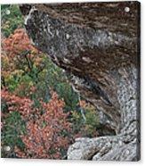 Lost Maples Fall Scene Acrylic Print