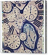 Lost Time Acrylic Print by Garry Gay