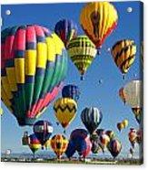 Lots Of Balloons Acrylic Print