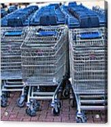 Lots Of Carts Acrylic Print