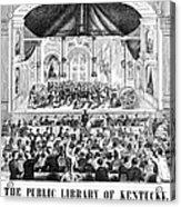 Lottery, 1873 Acrylic Print