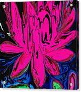 Lotus 5 Acrylic Print