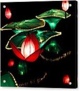 Lotus Lanterns 4 Acrylic Print