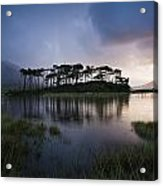 Lough Derryclare, Twelve Bens, Co Acrylic Print