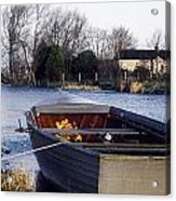 Lough Neagh, Co Antrim, Ireland Boat In Acrylic Print