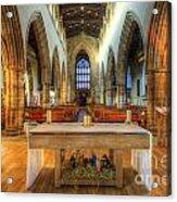 Loughborough Church Altar Acrylic Print